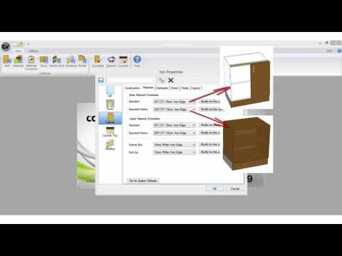 Cabinet Vision Tutorials (Expert 2) - Material Schedules
