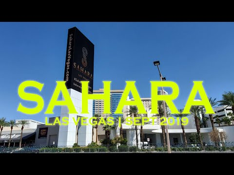 Return of The Sahara Las Vegas Hotel Casino | Sept 2019 Walkthrough