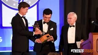 Doug Ghim wins the 2018 Ben Hogan Award