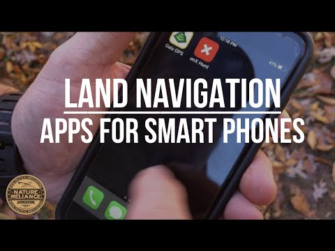 Wilderness and Land Navigation apps for your phone
