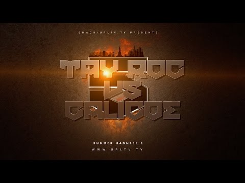TAY ROC VS CALICOE SMACK/ URL RAP BATTLE | URLTV