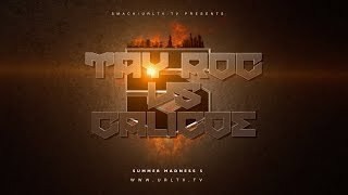TAY ROC VS CALICOE SMACK/ URL RAP BATTLE