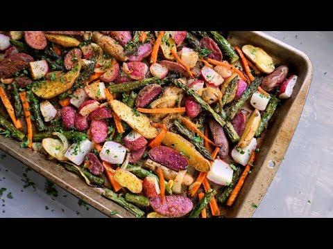 Roasted Spring Vegetables   Meal Prep Side   Episode 154