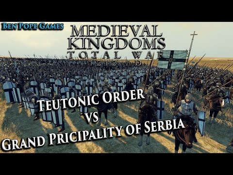 Teutonic Order vs Serbia - [Medieval Kingdoms 1212AD Total War]