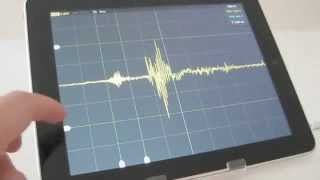 Repeat youtube video Oscilloscope for iPhone and iPad