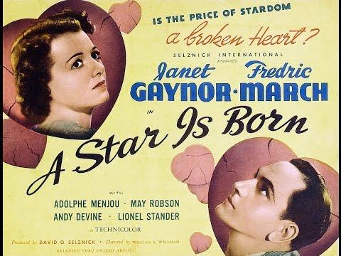 A Star Is Born   1937  William A. Wellman