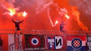 Hajduk Split Ultras (Torcida Split) - Best Moments - YouTube