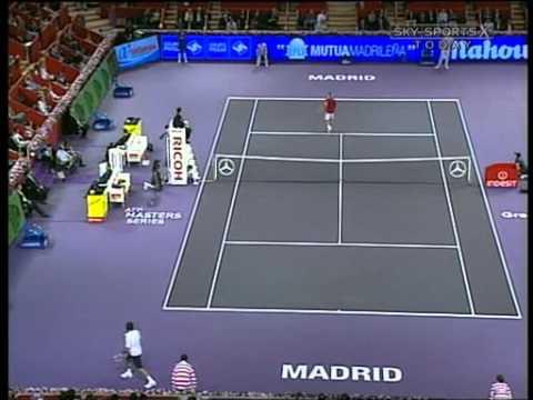 Roger Federer vs Nicolas Massu -- Madrid 2006 Highlights