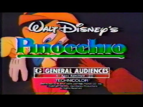 Pinocchio Commercial Trailer 1984 Mp3