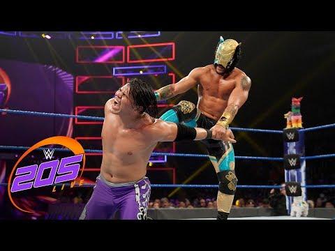 Humberto Carrillo vs. Lince Dorado: WWE 205 Live, Aug. 6, 2019