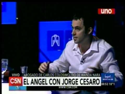 C5N - El Angel de la Medianoche: Entrevista a Jorge Cesaro (Parte 2)