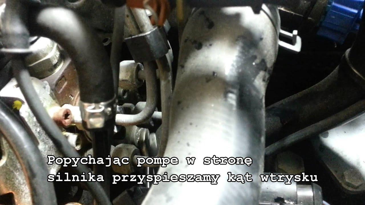 Ustawienie Kąta Wtrysku Start Of Injection Tdi Youtube