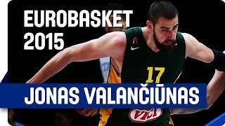 Jonas Valančiūnas (26 points, 15 rebounds) v Italy - EuroBasket 2015