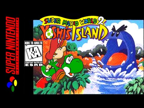 [LONGPLAY] SNES - Super Mario World 2: Yoshi's Island