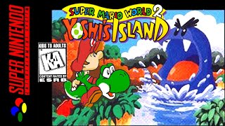"[LONGPLAY] SNES - Super Mario World 2: Yoshi's Island ""100%"" (HD, 60FPS)"