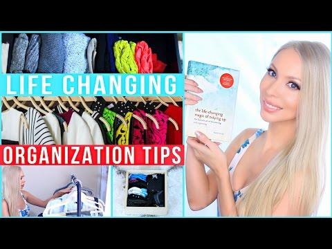 Life Changing Organization Tips! The KonMari Method