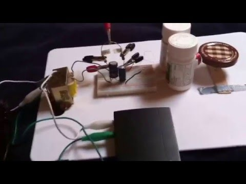 Simple AC Induction Motor