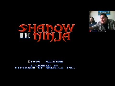 One hit left! - NES Shadow of the Ninja - Gamers with Guts