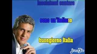 Toto Cutugno L'italiano Karaoke Instrumental + lyrics
