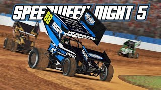 iRacing: Speedweek - Night 5 (410 Sprintcars @ Charlotte)