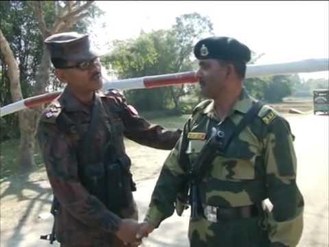 India, Bangladesh troops exchange sweets on Republic Day