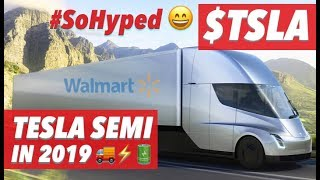 TESLA SEMI IN 2019  🚚⚡🔋 😄