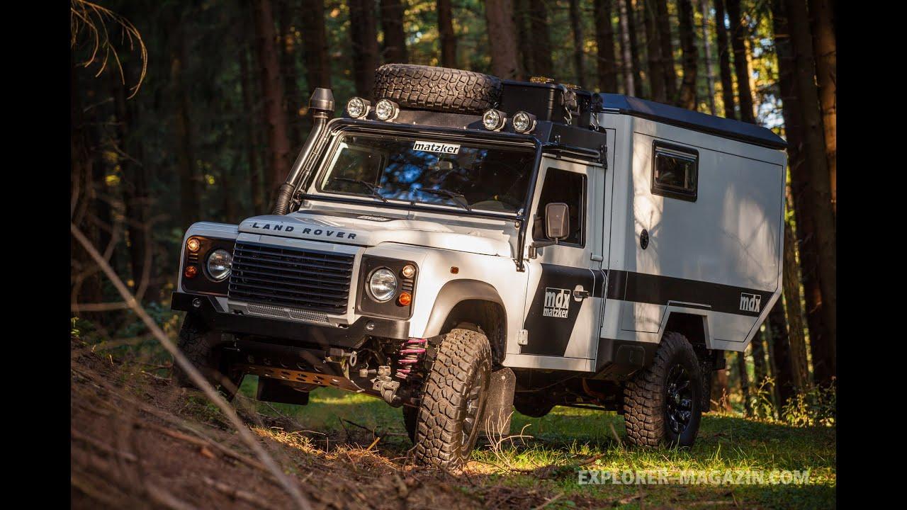 Matzker Mdx Land Rover Defender Expeditionsmobil Im Test