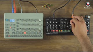 Model:Cycles and Roland SE-02 session at Patchwerks!