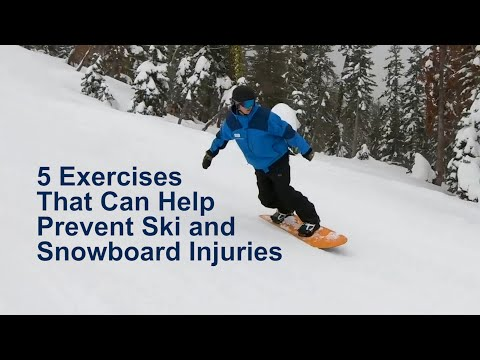 5 Exercises That Can Help Prevent Ski and Snowboard Injuries