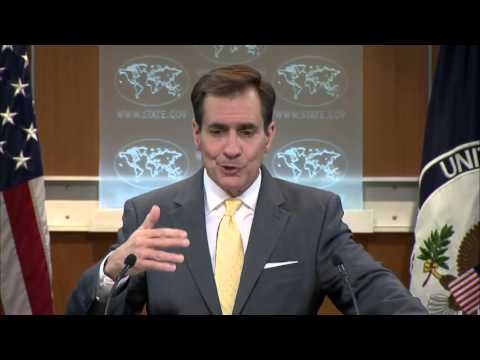 Kirby: Russia is prolonging the conflict in Syria. 08 Feb 2016