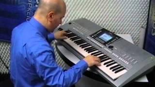 Yamaha PSR-S910 - Demo style Latin