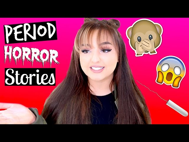 MY *EMBARRASSING* PERIOD HORROR STORIES 2   STORY TIME