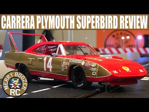 Carrera 27640 Plymouth Superbird, No.14, Digital 132 Slot Car Review