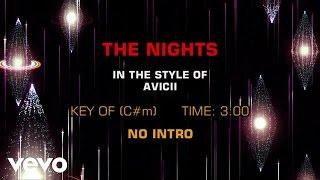 Avicii - The Nights (Karaoke)
