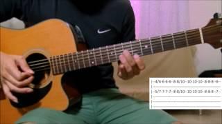 Baixar Trevo (Tu) - Anavitória e Tiago Iorc aula solo violão (como tocar)