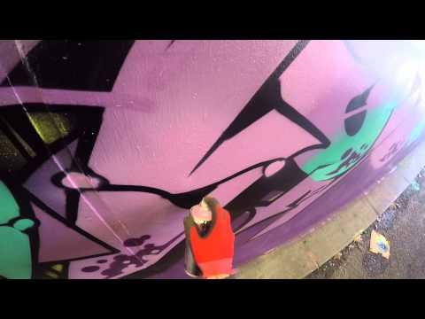 Graffiti - Ghost, Osek, Zem, & Deets EA Crew - Whole Crew Take Over
