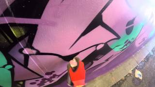 Graffiti - Ghost, Osek, Zem, & Deets EA Crew - Whole Crew Take Over