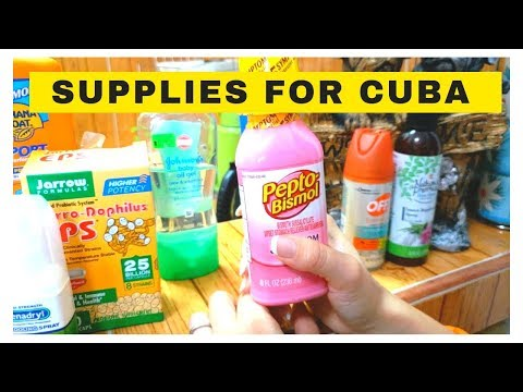 Travel Tips for Cuba -  What to bring to Cuba