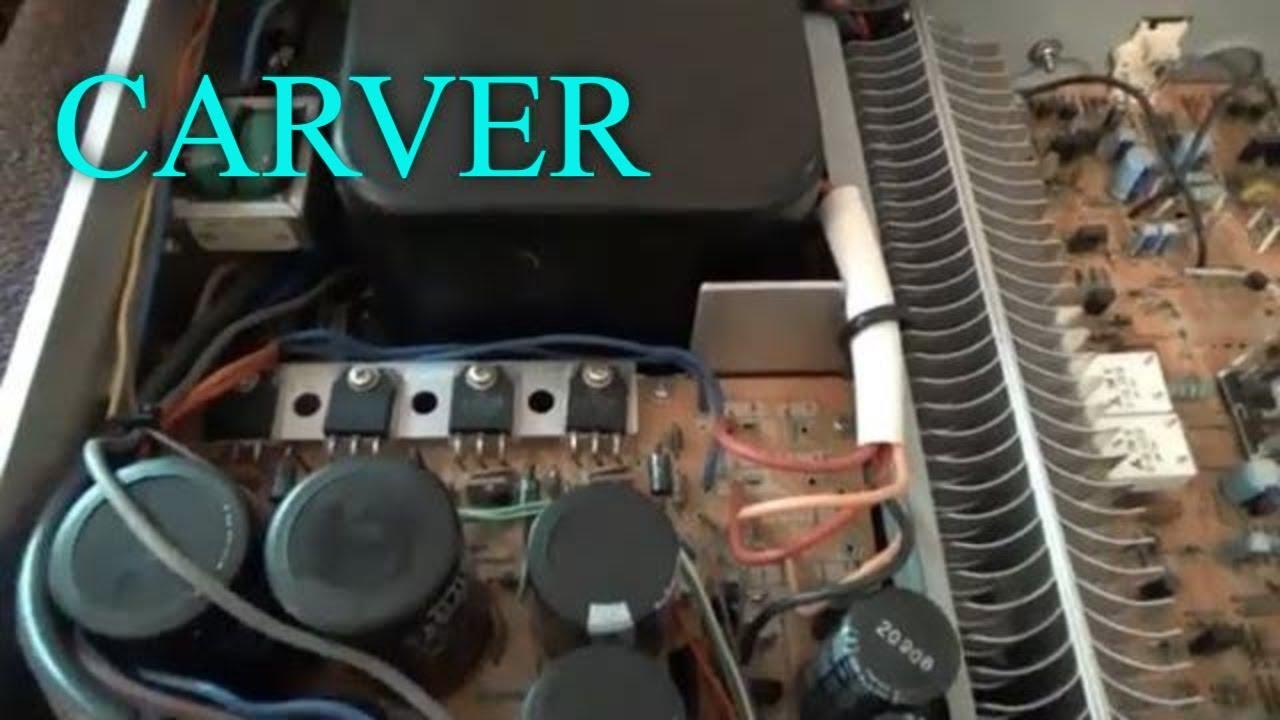 Vintage Carver Stereo Amplifier Revealed - M-500t Best Sounding Carver
