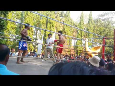 Booking fight at Cambodia
