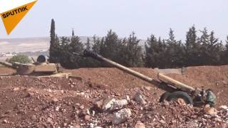 شاهد ماذا فعل الجيش السوري بمسلحي