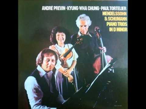 Kyung Wha Chung plays Robert Schumann Piano Trio No.1 in d minor Op.63