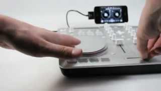 Vestax Spin2 USB MIDI & iOS DJ Controller for algoriddim djay
