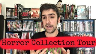 Horror Movie Blu Ray Collection Tour