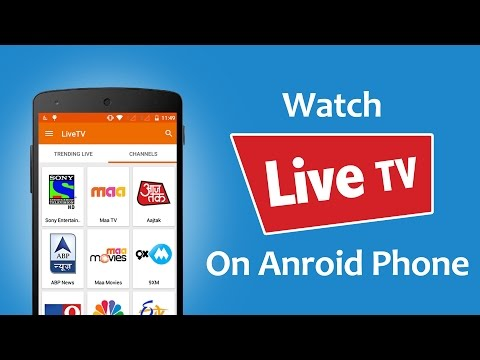 How To Watch Live TV On Android For Free?