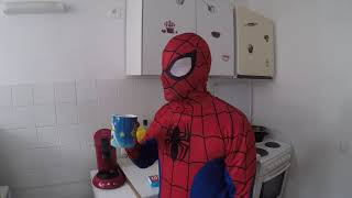 DIVNO -SPAJDERMEN SPIDERMAN MORNING ROUTINE REAL LIFE  FUNNY VIDEOS NICK PRO