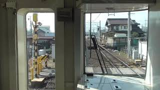 【MH】名鉄1700系1702F笠松停車ミュージックホーンフル!