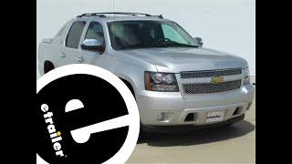 Trailer Brake Controller Installation - 2013 Chevrolet Avalanche - etrailer.com