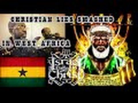 The Israelites  Bishop Nathanyel Smashes Christian Lies On Ghana Radio!!!