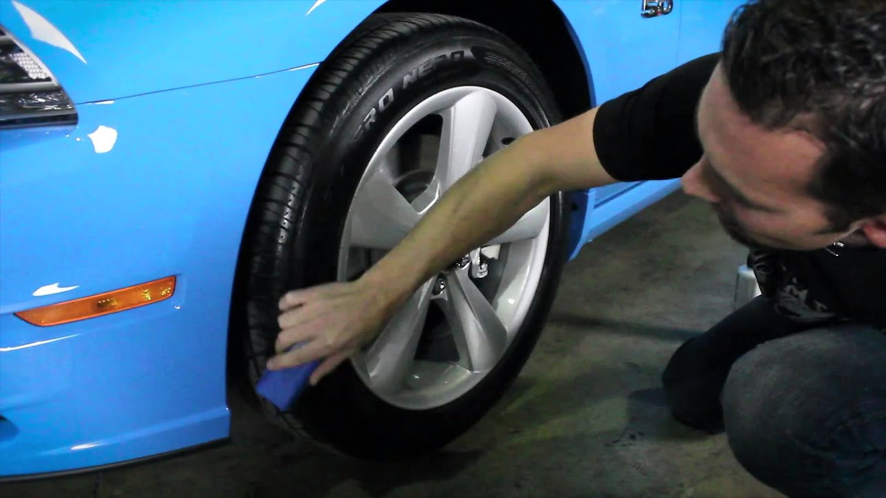 how to stop a squeaky tire on my car